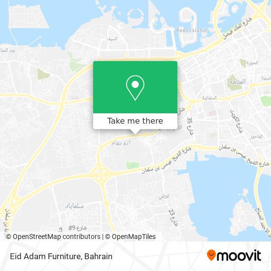Eid Adam Furniture map