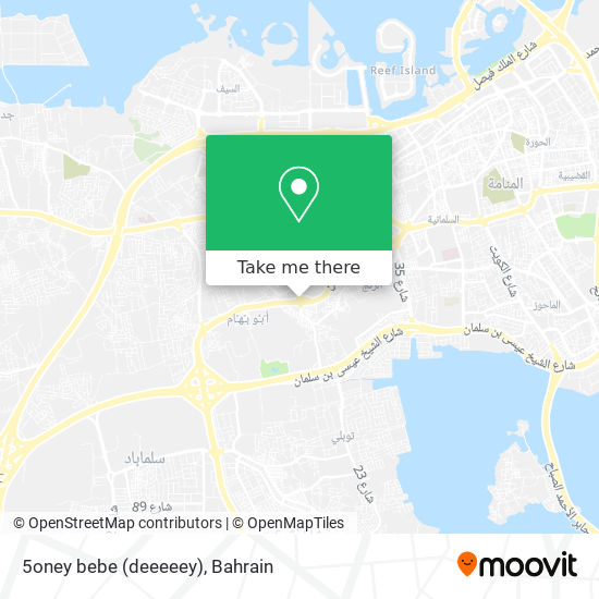 5oney bebe (deeeeey) map