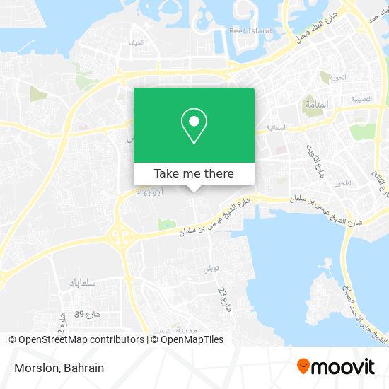Morslon map