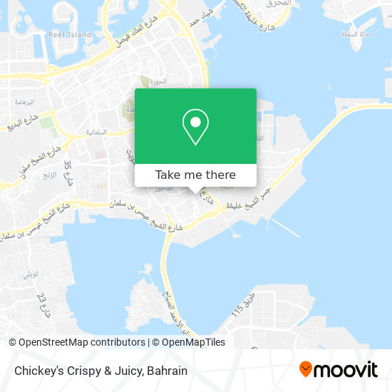 Chickey's Crispy & Juicy map