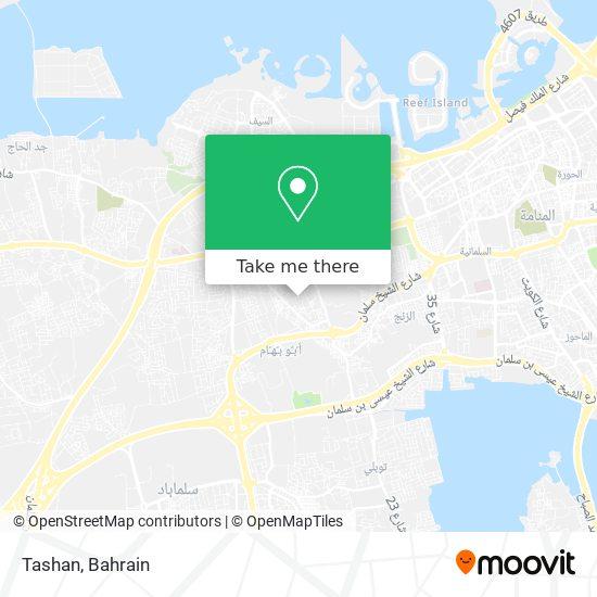 Tashan map