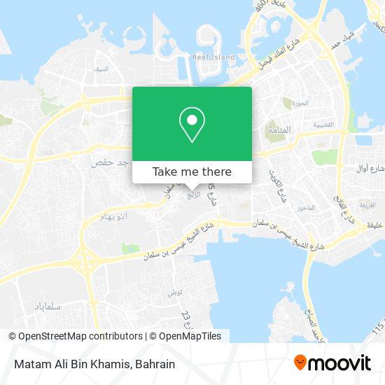 Matam Ali Bin Khamis map