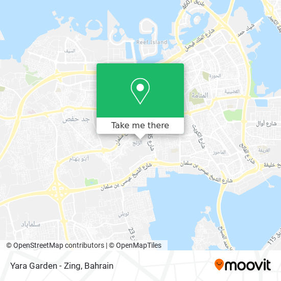 Yara Garden - Zing map