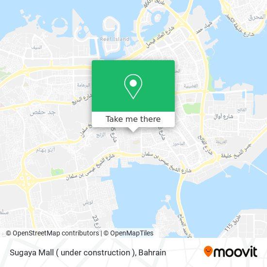 Sugaya Mall ( under construction ) map
