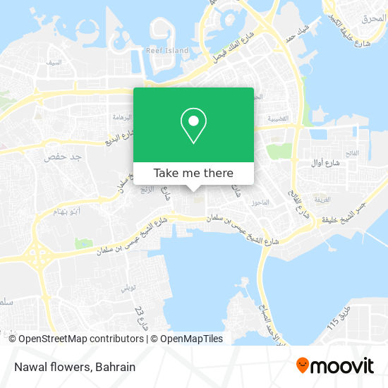Nawal flowers map
