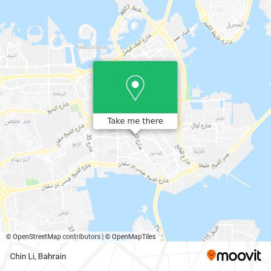Chin Li map