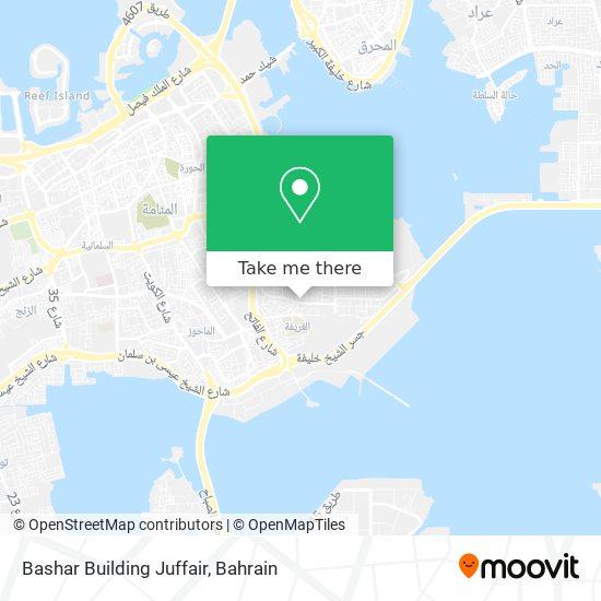 Bashar Building Juffair map