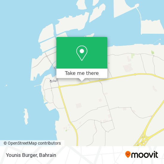 Younis Burger map