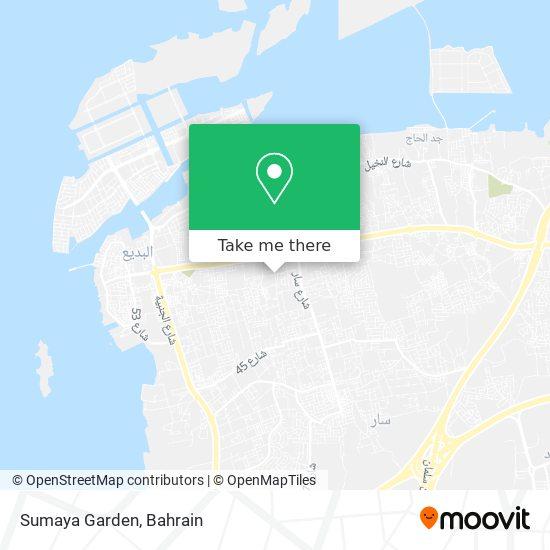 Sumaya Garden map