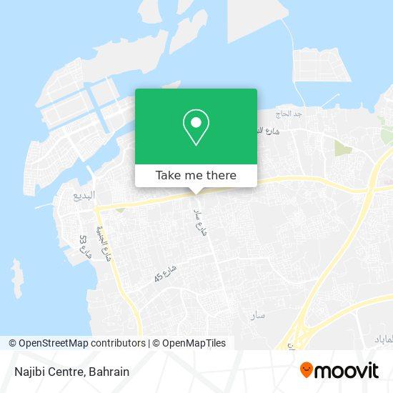 Najibi Centre map