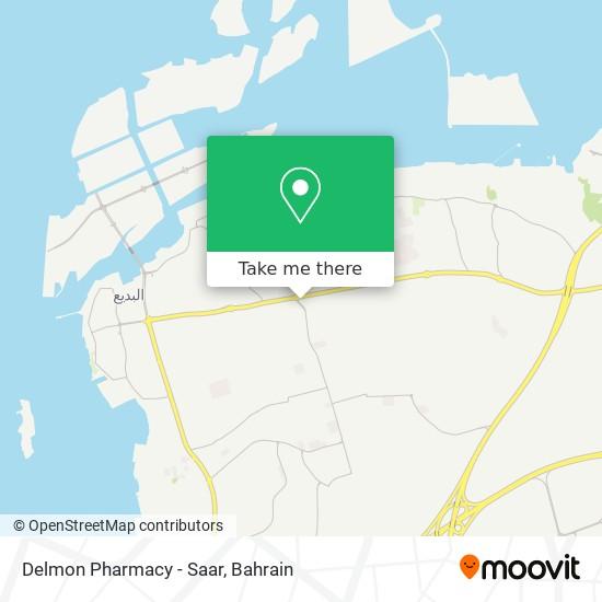 Delmon Pharmacy - Saar map