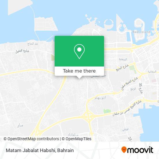 Matam Jabalat Habshi map