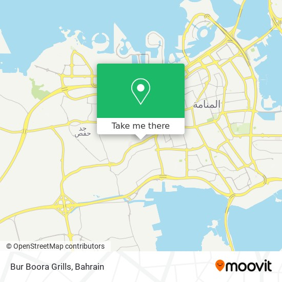 Bur Boora Grills map