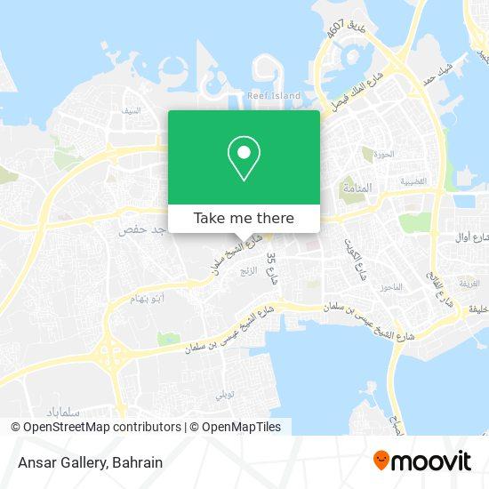 Ansar Gallery map
