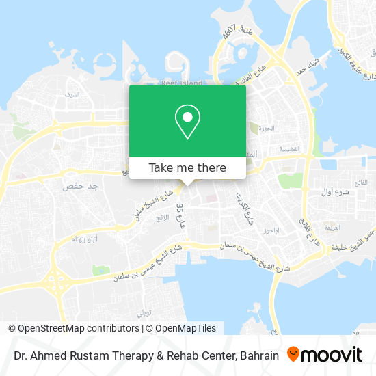 Dr. Ahmed Rustam Therapy & Rehab Center map