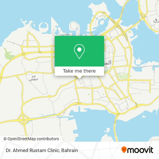 Dr. Ahmed Rustam Clinic map