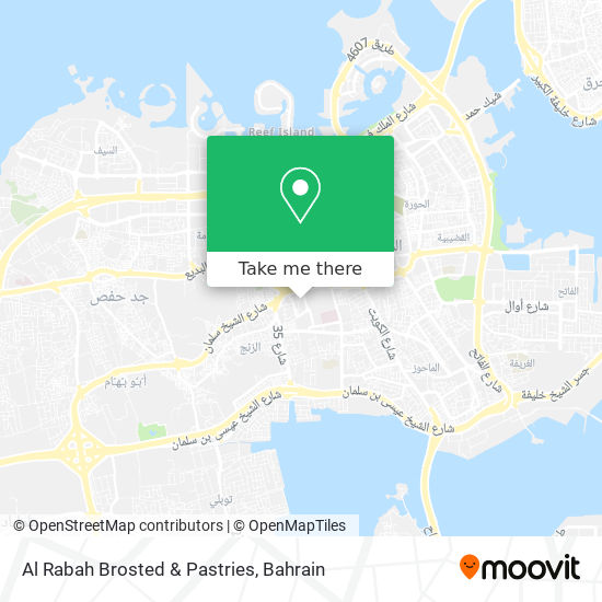 Al Rabah Brosted & Pastries map