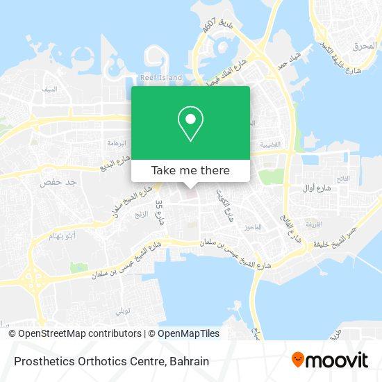 Prosthetics Orthotics Centre map