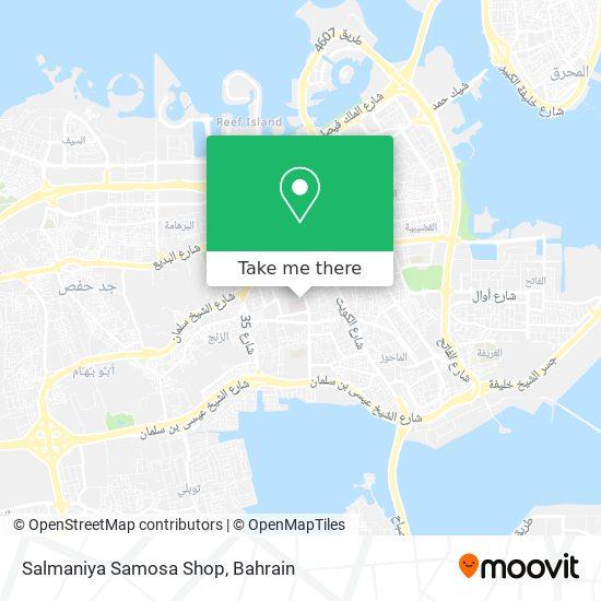 Salmaniya Samosa Shop map