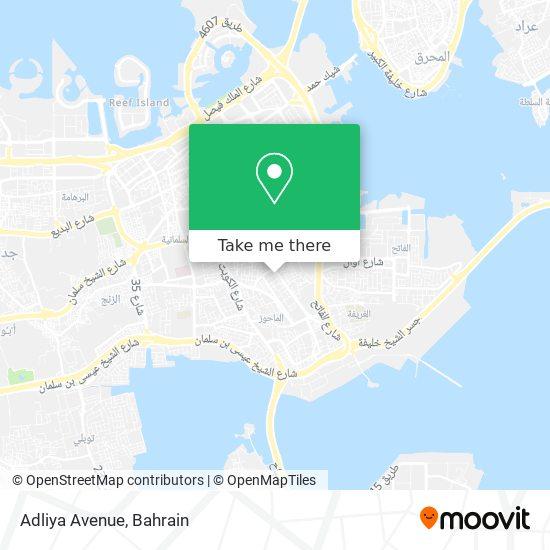 Adliya Avenue map