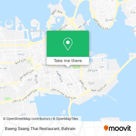 Baeng Saang Thai Restaurant map