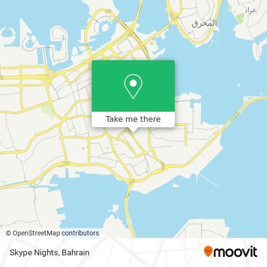 Skype Nights map