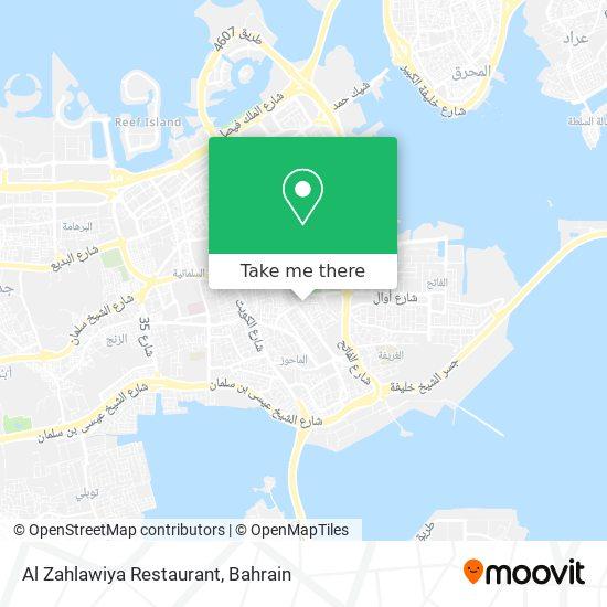 Al Zahlawiya Restaurant map