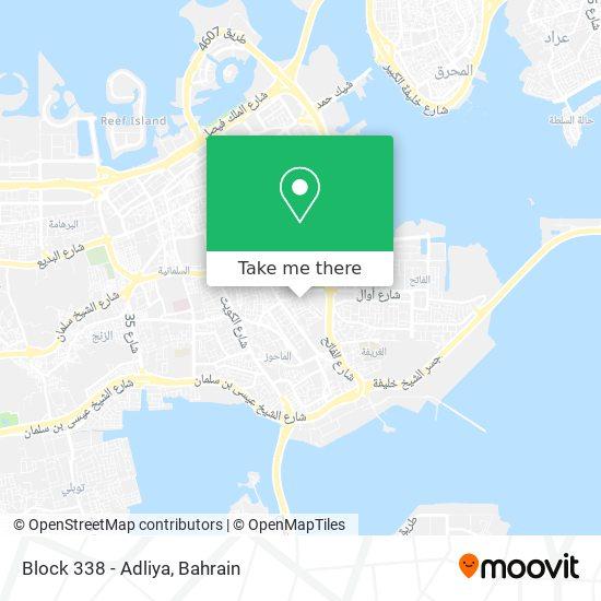 Block 338 - Adliya map