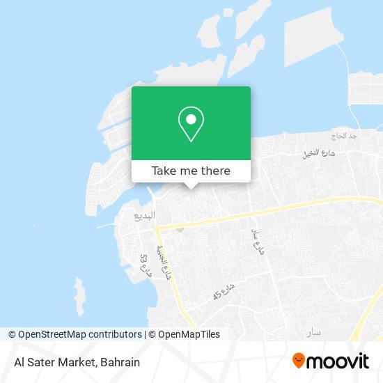 Al Sater Market map