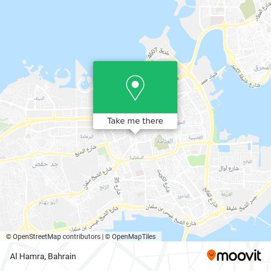 Al Hamra map