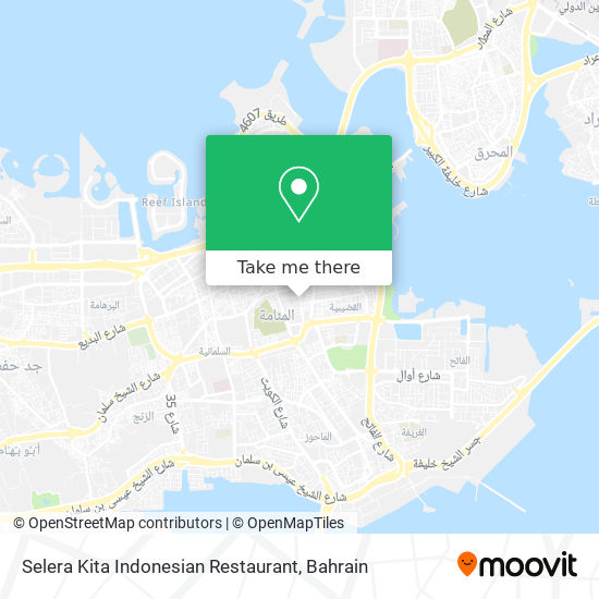 Selera Kita Indonesian Restaurant map