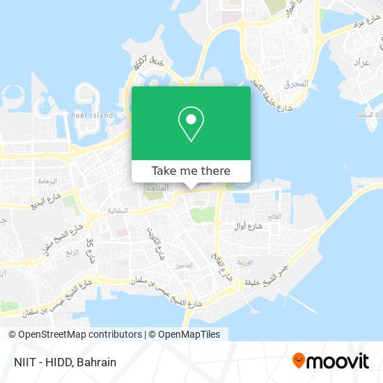 NIIT - HIDD map