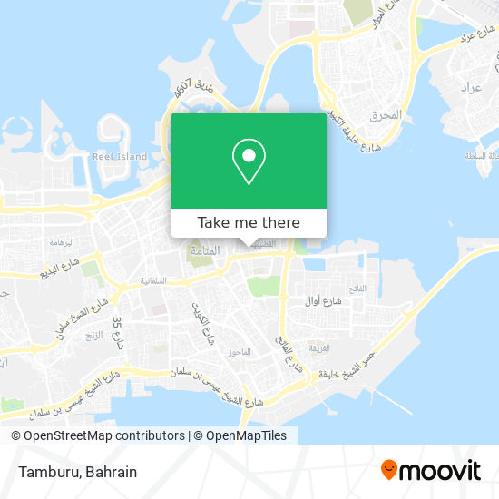 Tamburu map