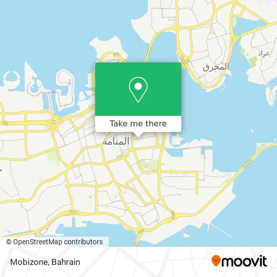 Mobizone map