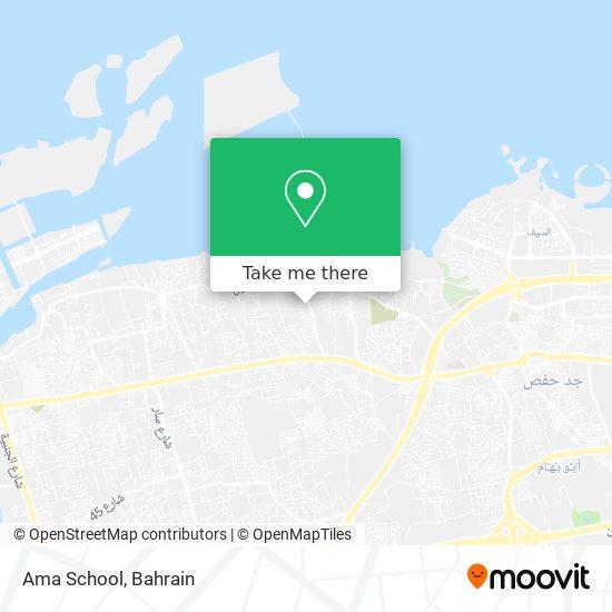 Ama School map