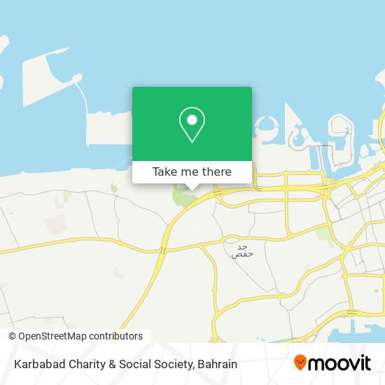 Karbabad Charity & Social Society map