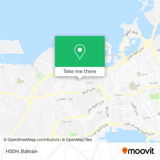 HSDH map