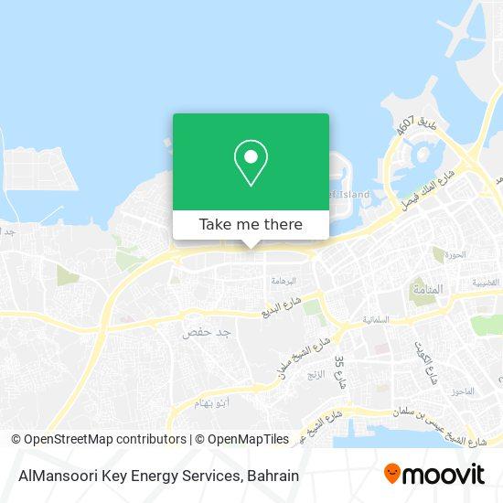 AlMansoori Key Energy Services map