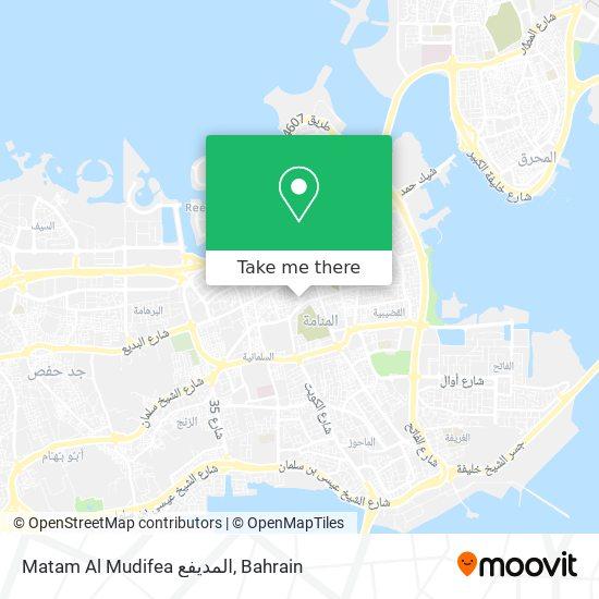 Matam Al Mudifea المديفع map