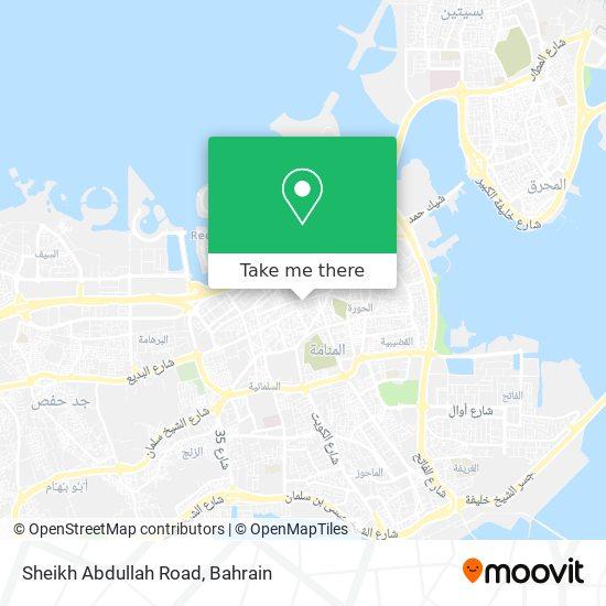 Sheikh Abdullah Road map