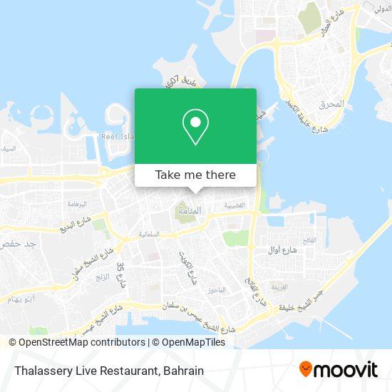 Thalassery Live Restaurant map