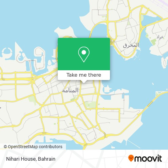 Nihari House map