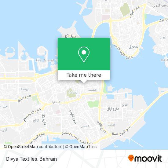 Divya Textiles map