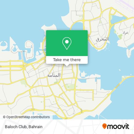 Baloch Club map