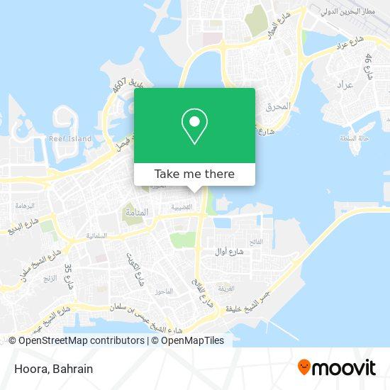 Hoora map