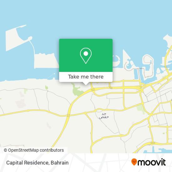 Capital Residence map