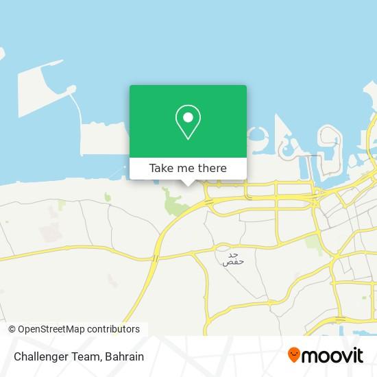 Challenger Team map