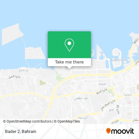 Bader 2 map