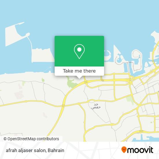 afrah aljaser salon map