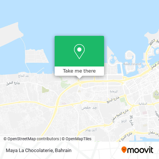 Maya La Chocolaterie map